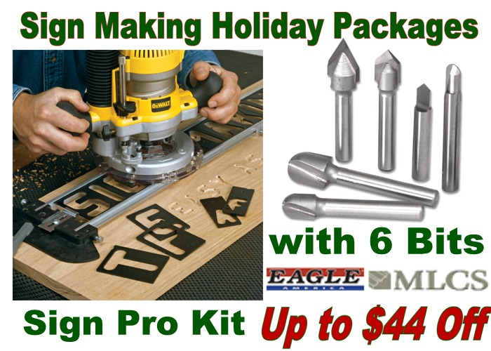 Save up to $44 with Holiday Sign Making Packages