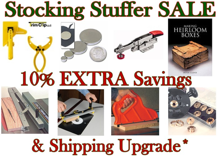 10% Off Stocking Stuffers & Shipping Upgrade
